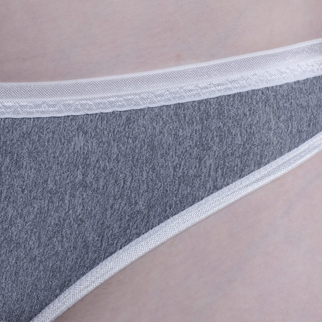 Grey Marle/White Trim
